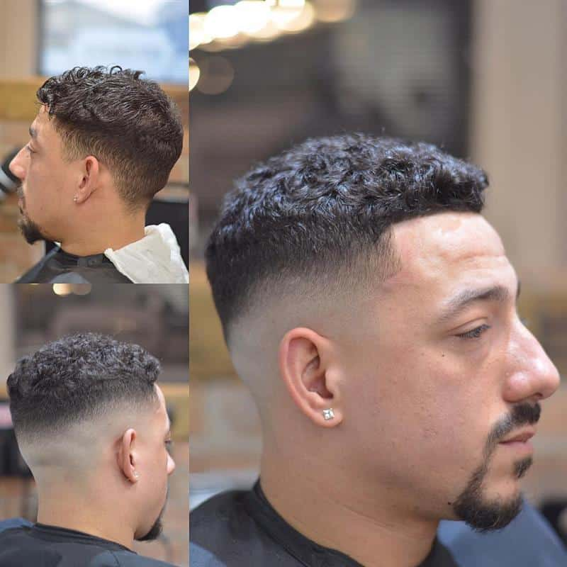 corte de cabelo masculino na maquina