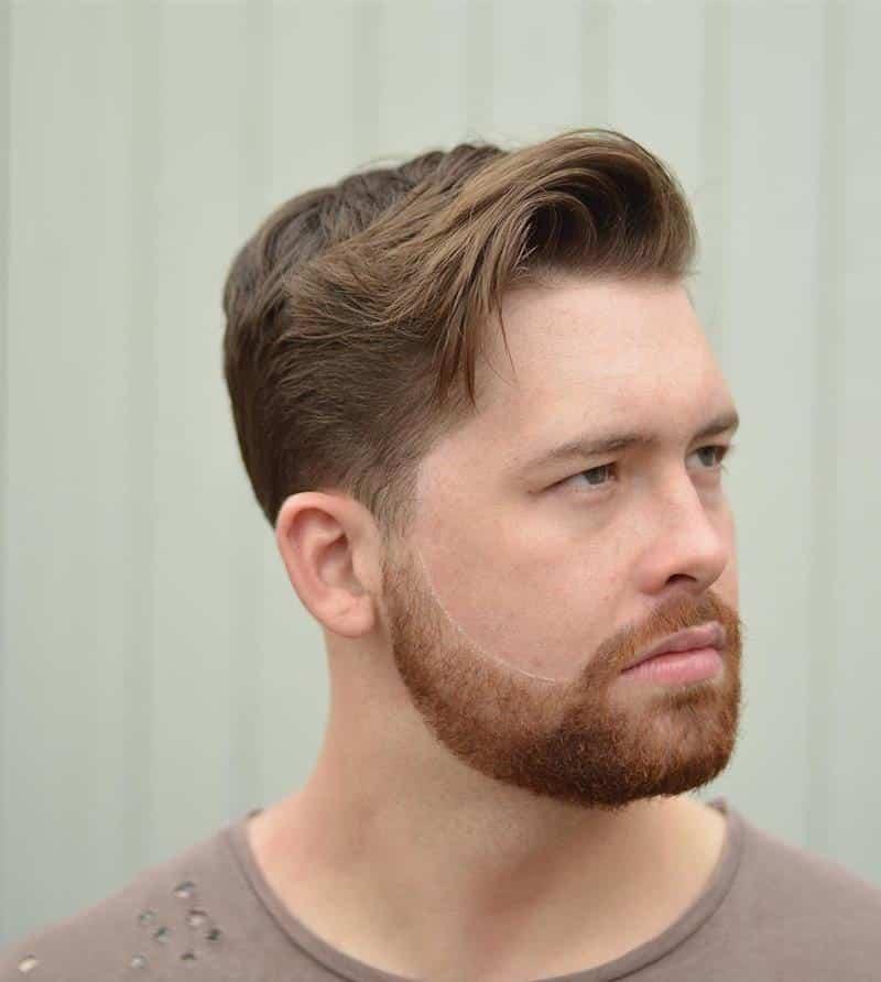 cabelo masculino ruivo