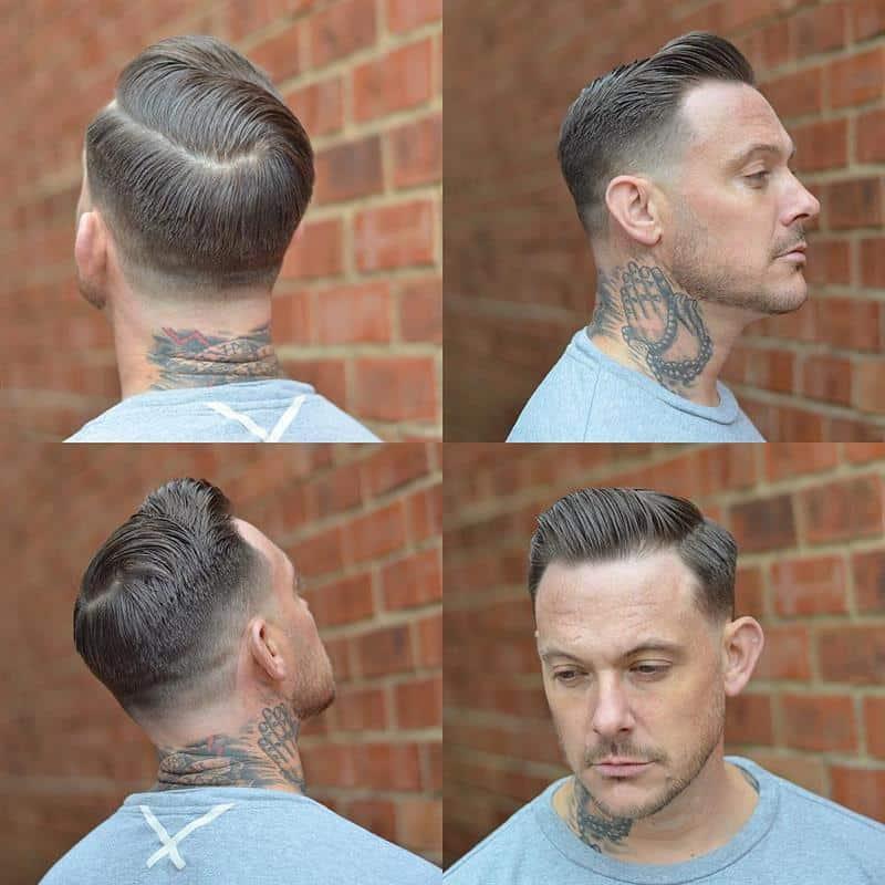 cabelo masculino curto em camadas