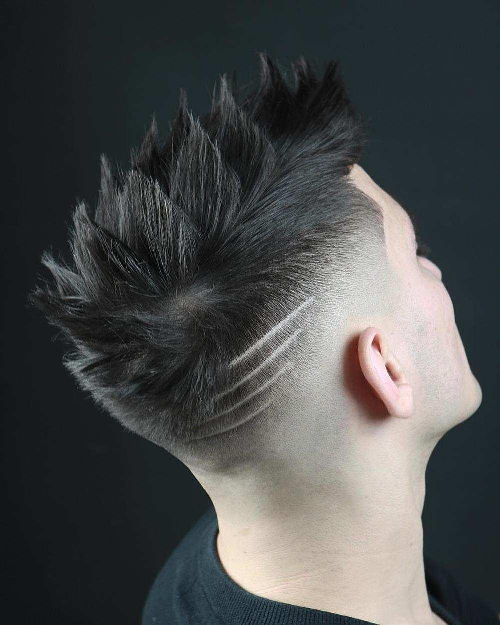 riscos no cabelo