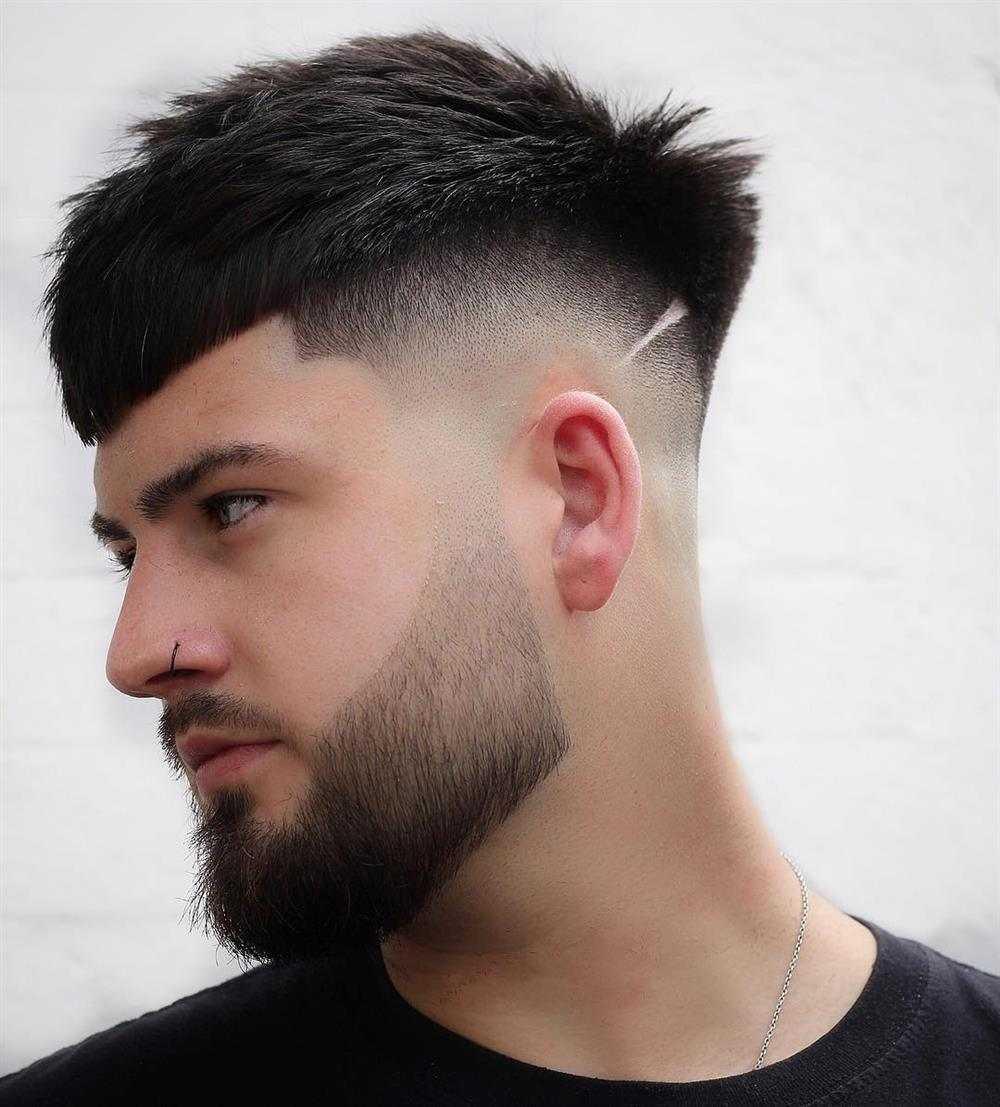 risquinho no cabelo masculino