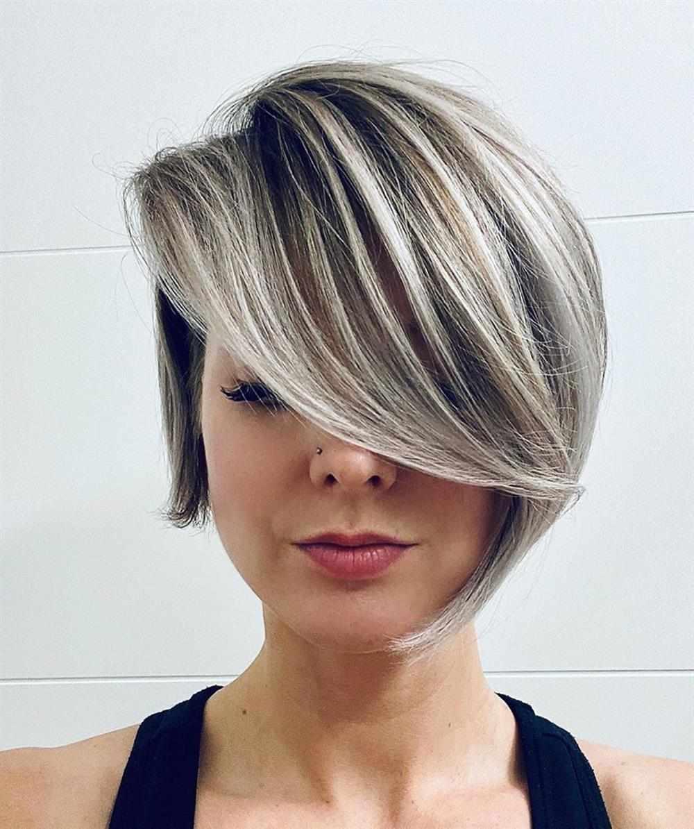 cortes de cabelo feminino 2021 com franja
