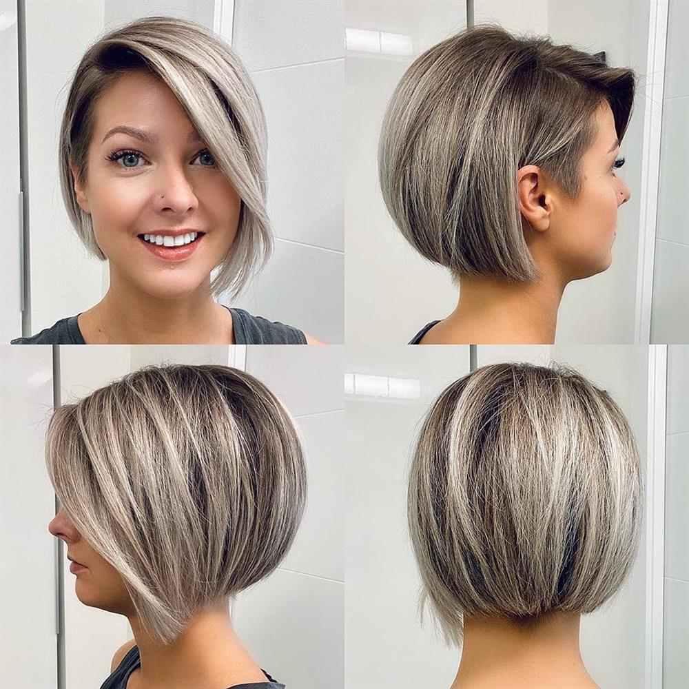 corte de cabelo para rosto fino
