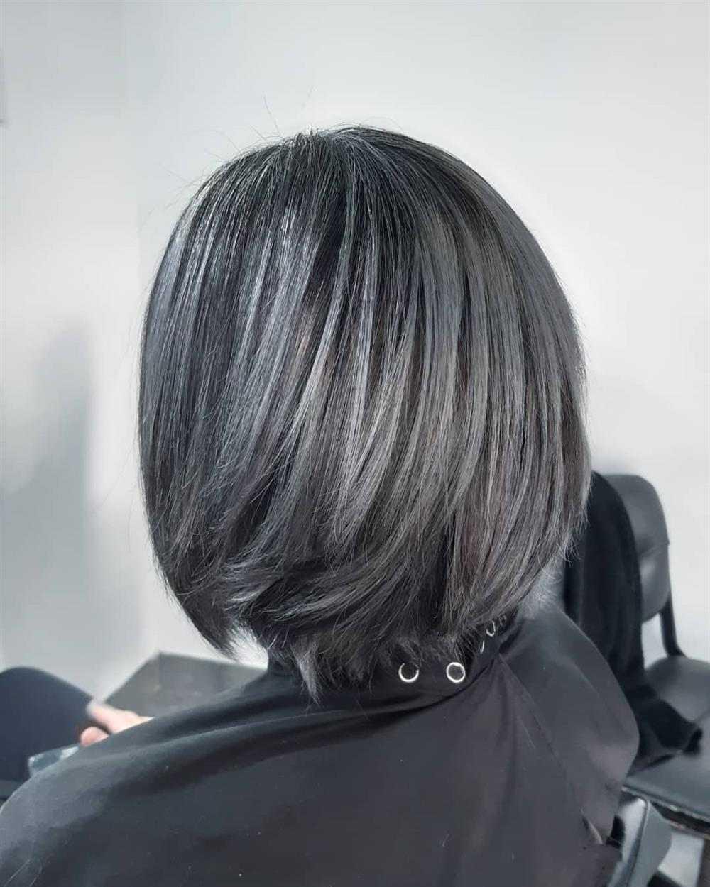 tinta para deixar o cabelo cinza
