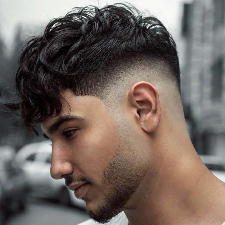 corte de cabelo masculino raspado