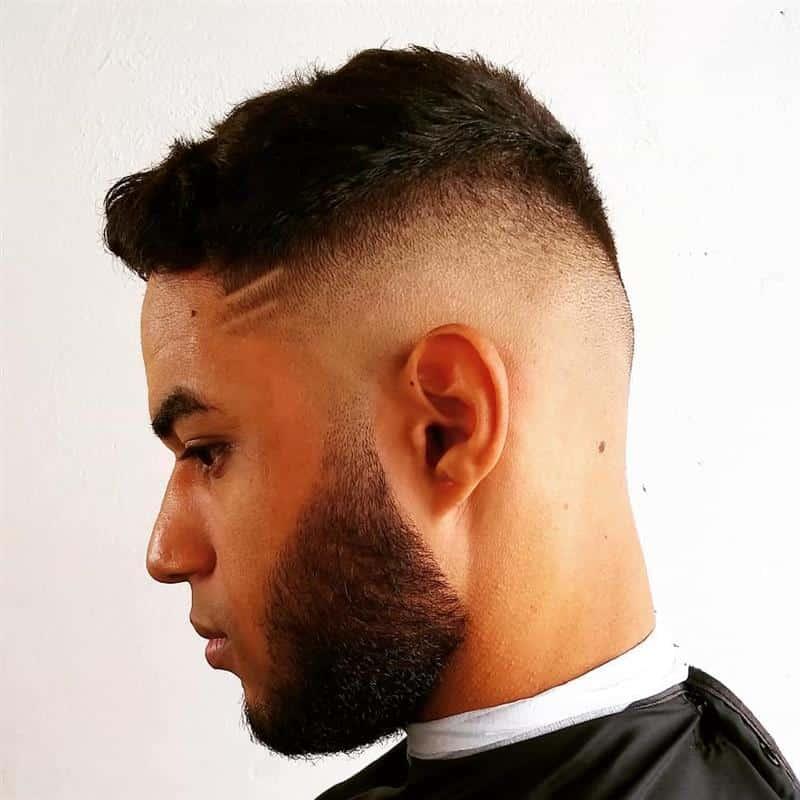 corte de cabelo masculino 2021 com risco
