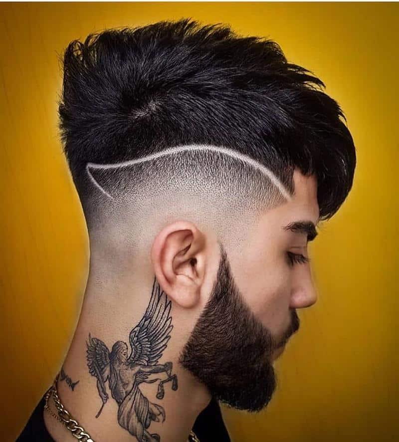 corte de cabelo masculino giletado