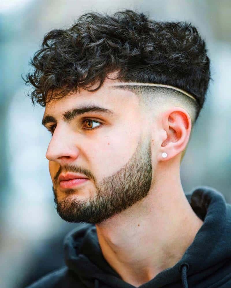 corte de cabelo com linha