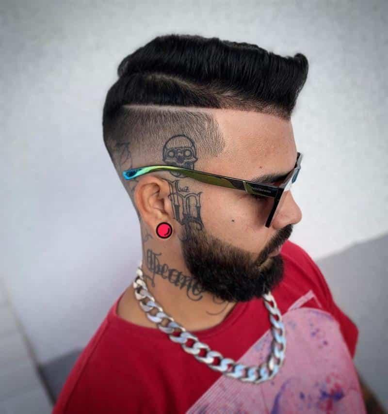 corte de cabelo masculino baixo na lateral