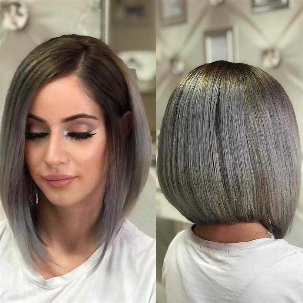 cabelo cinza antes e depois