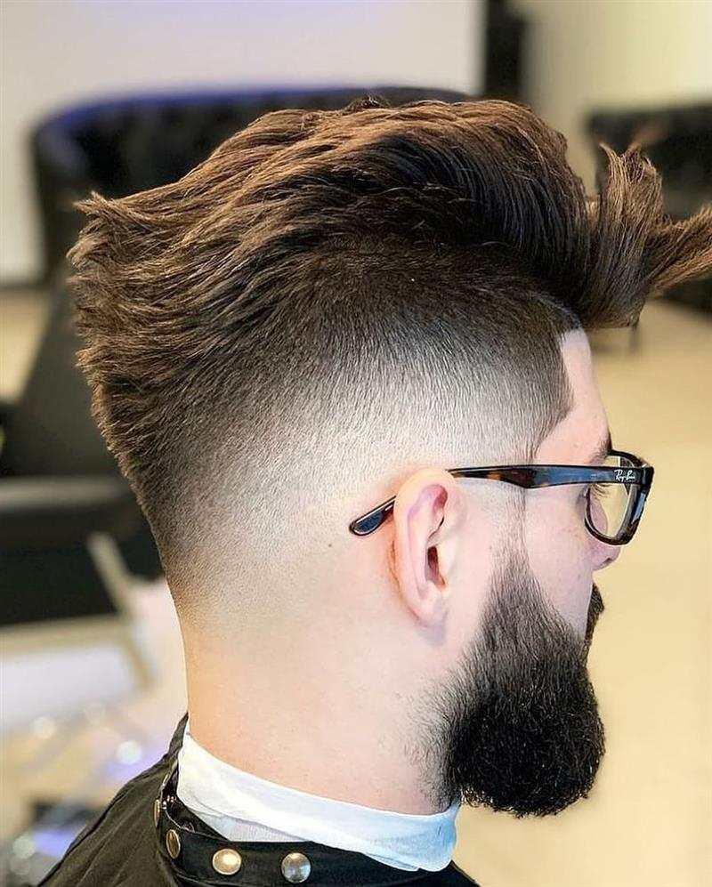 corte de cabelo baixo na lateral