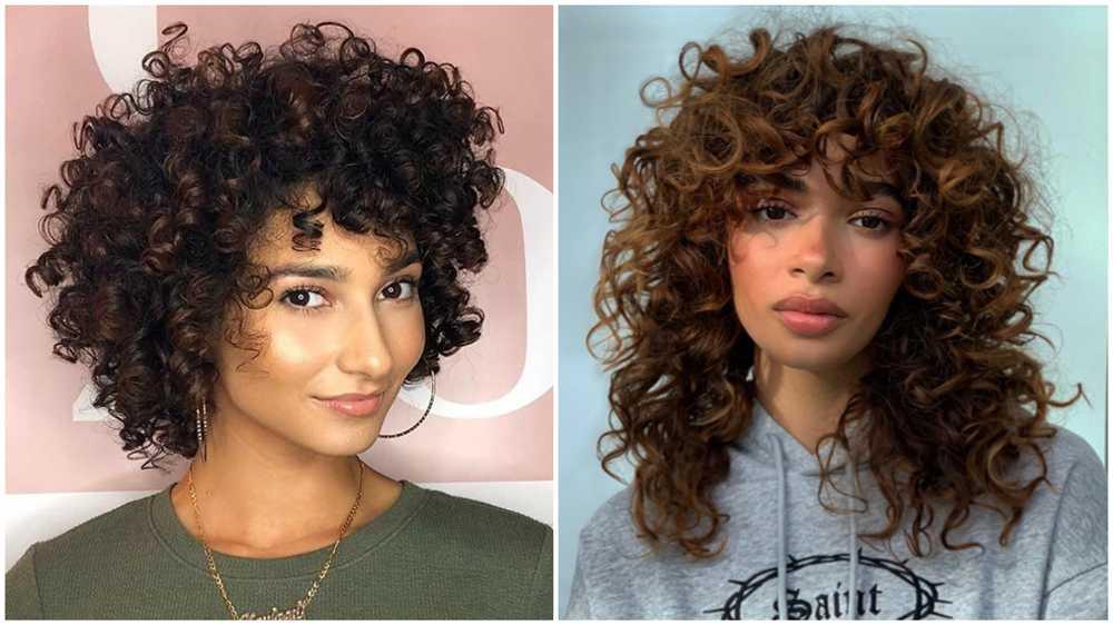 cortes de cabelo cacheados 2021 femininos