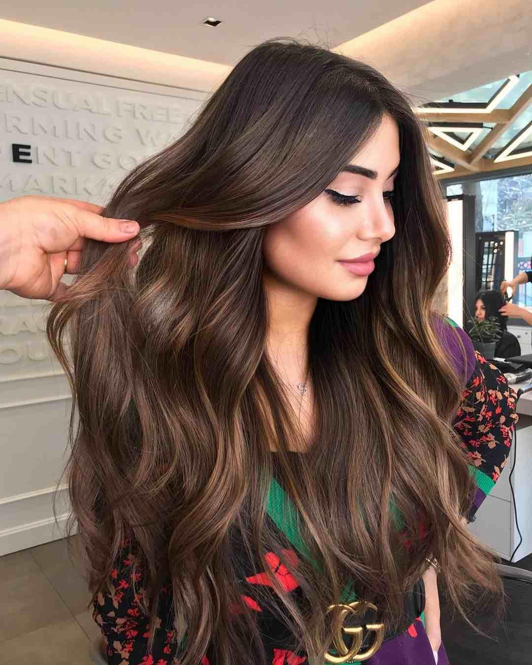 cabelo longo repicado