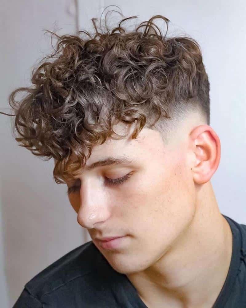 corte de cabelo masculino para rosto oval