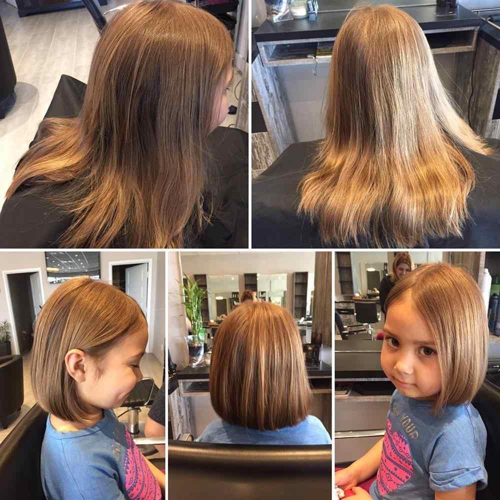 cabelo infantil reto