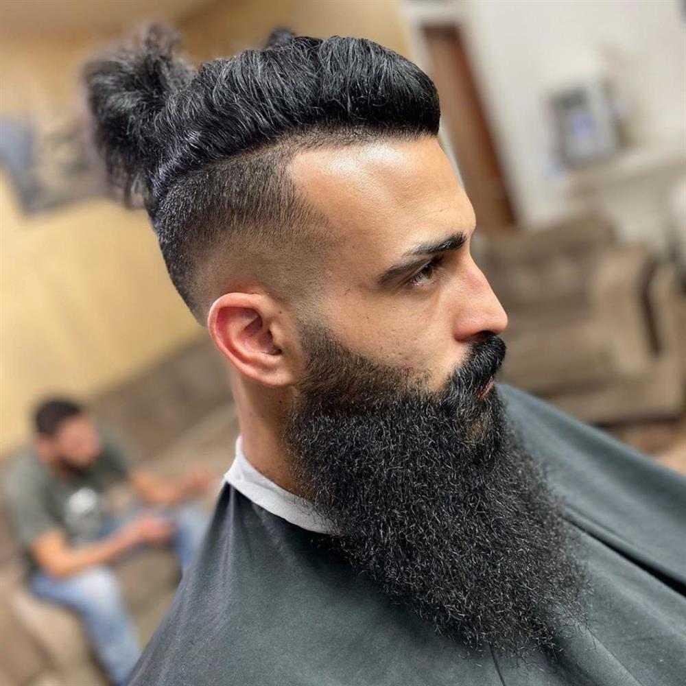 samurai e barba lenhador