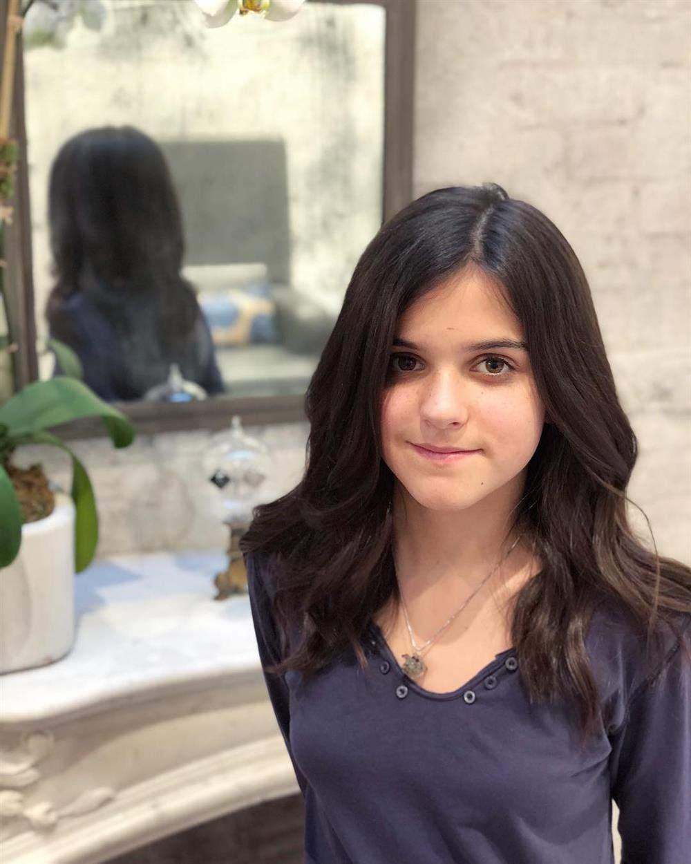 corte de cabelo feminino infantil