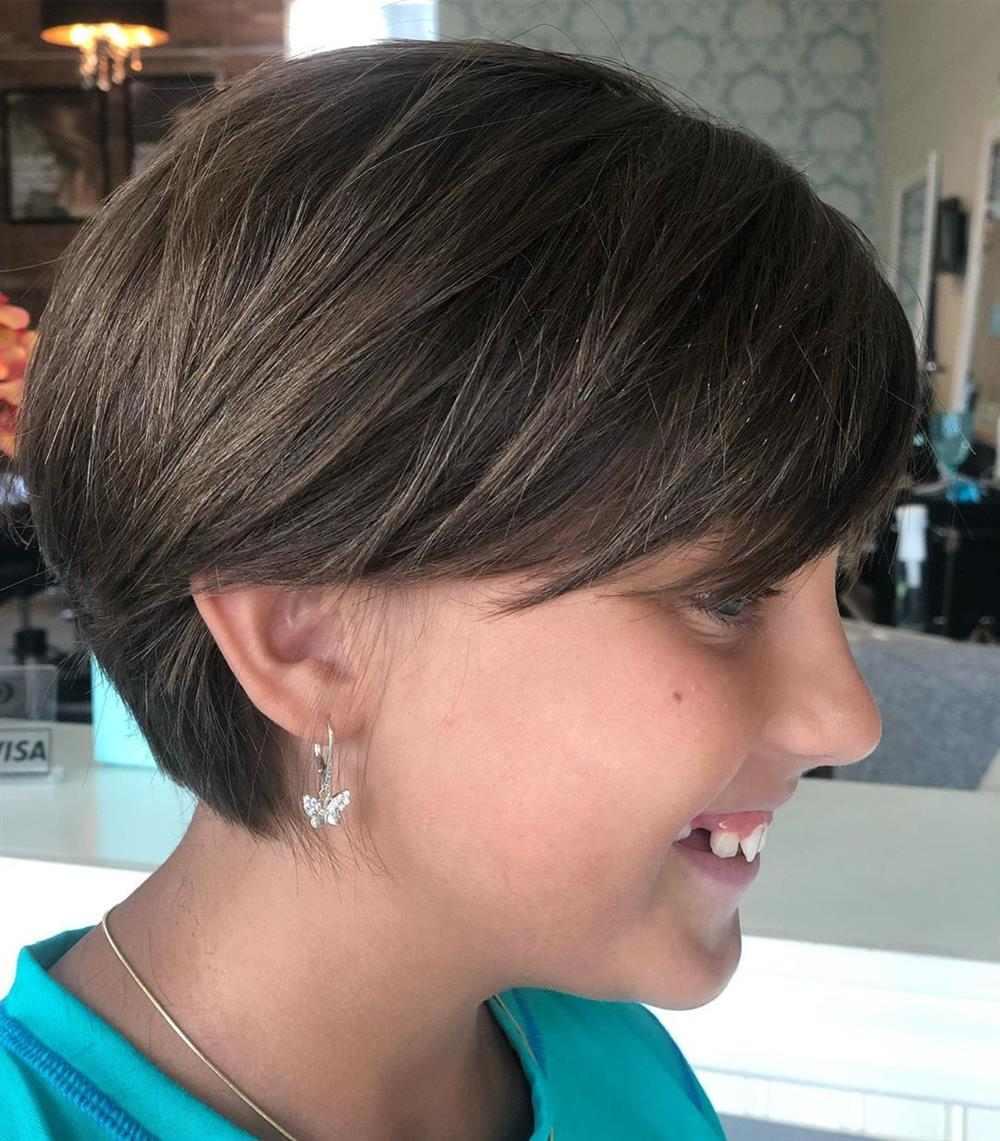 corte de cabelo infantil feminino curto nuca batidinha