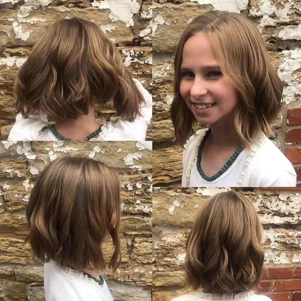 cabelo ondulado medio