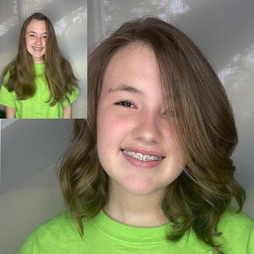 corte de cabelo infantil para meninas