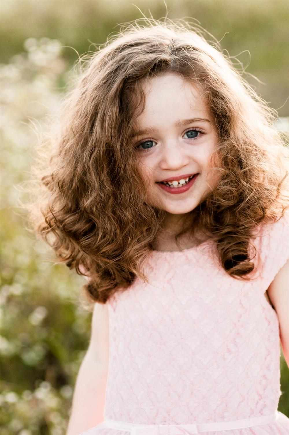 corte de cabelo infantil feminino cacheado