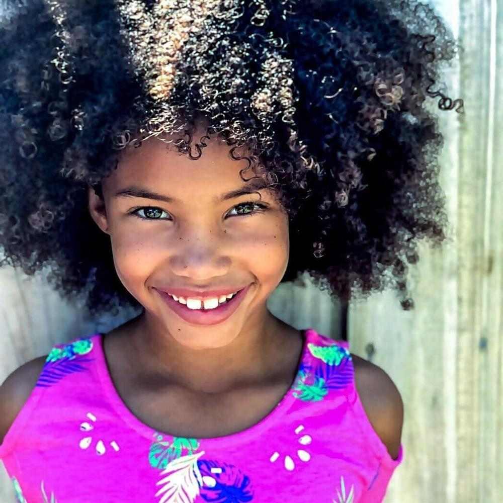 corte de cabelo crespo infantil