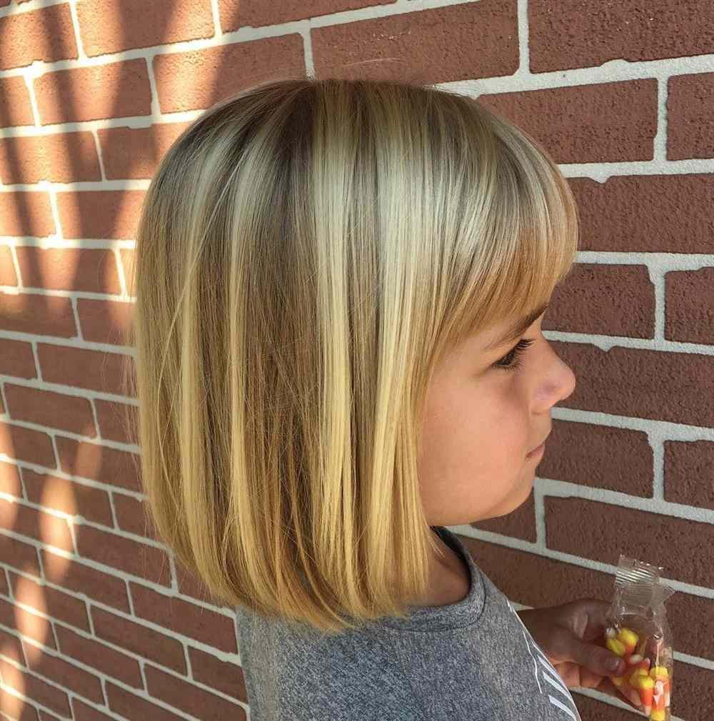 cabelo infantil curto