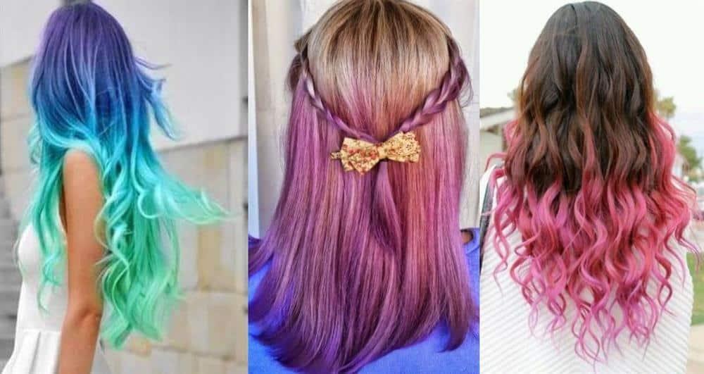 Como pintar o cabelo com papel crepom e creme