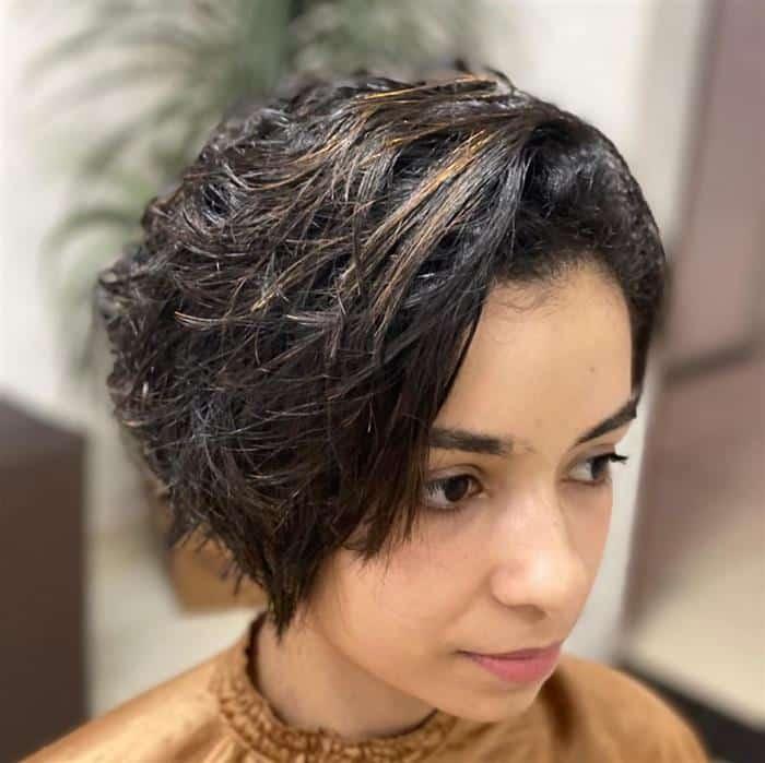 corte de cabelo curto bem bonito