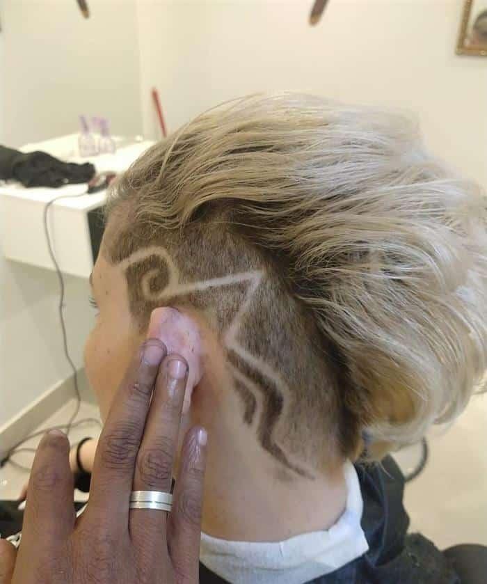 corte de cabelo curto feminino a maquina