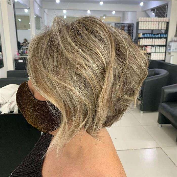 corte de cabelo curto long bob