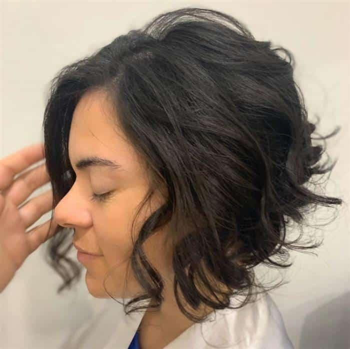 corte de cabelo curto medio