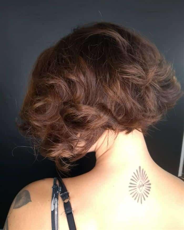corte de cabelo curto moderno feminino