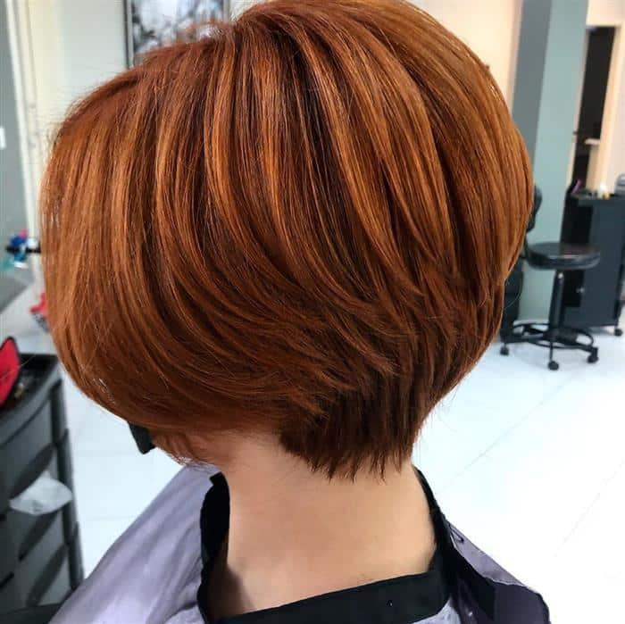 corte de cabelo curto na nuca