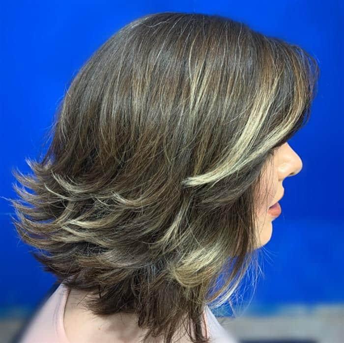 corte de cabelo curto repicado