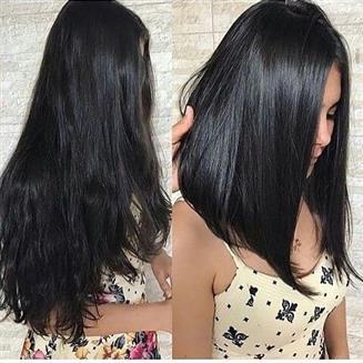 cabelo preto longo
