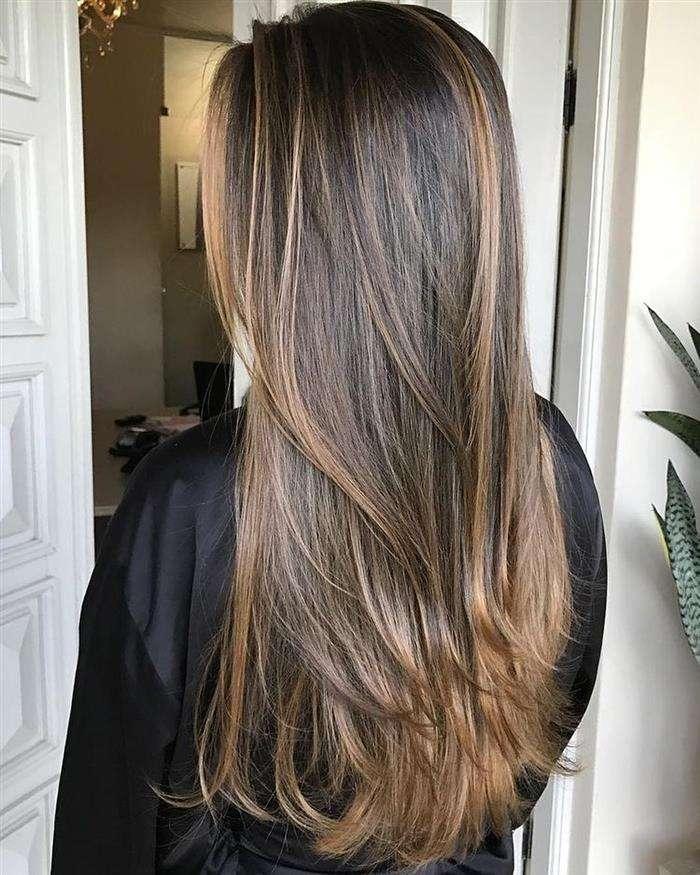 cabelo longo liso