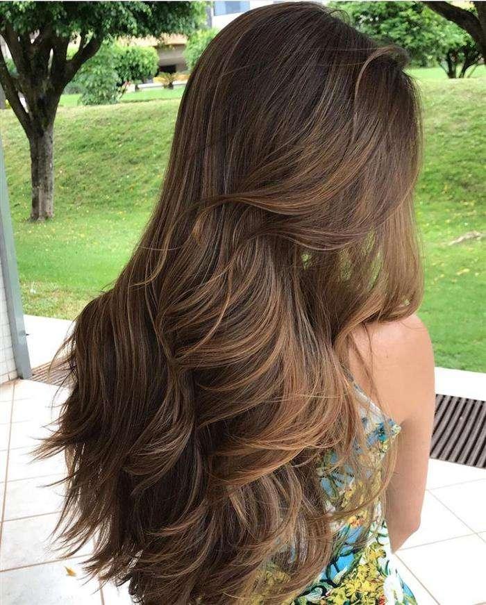 cabelos coloridos longos