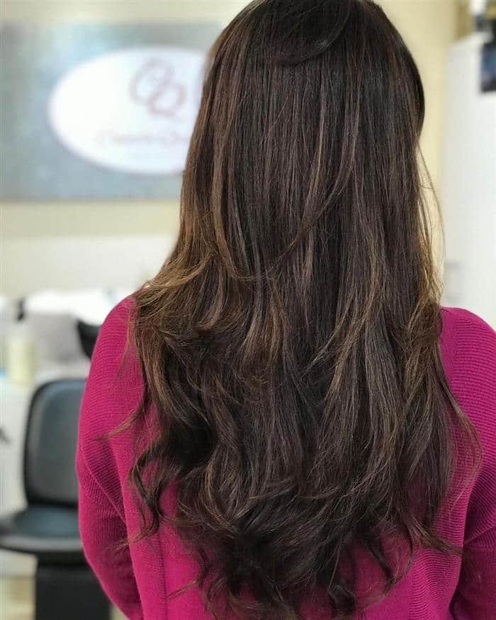Cortes de cabelos morena iluminada