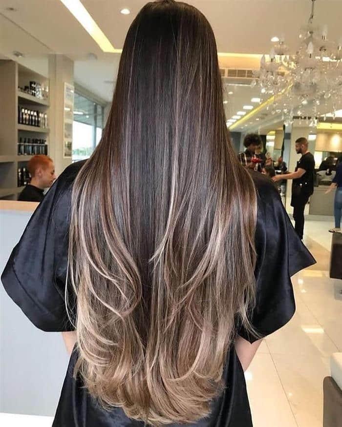 Corte de cabelo com ombre haior