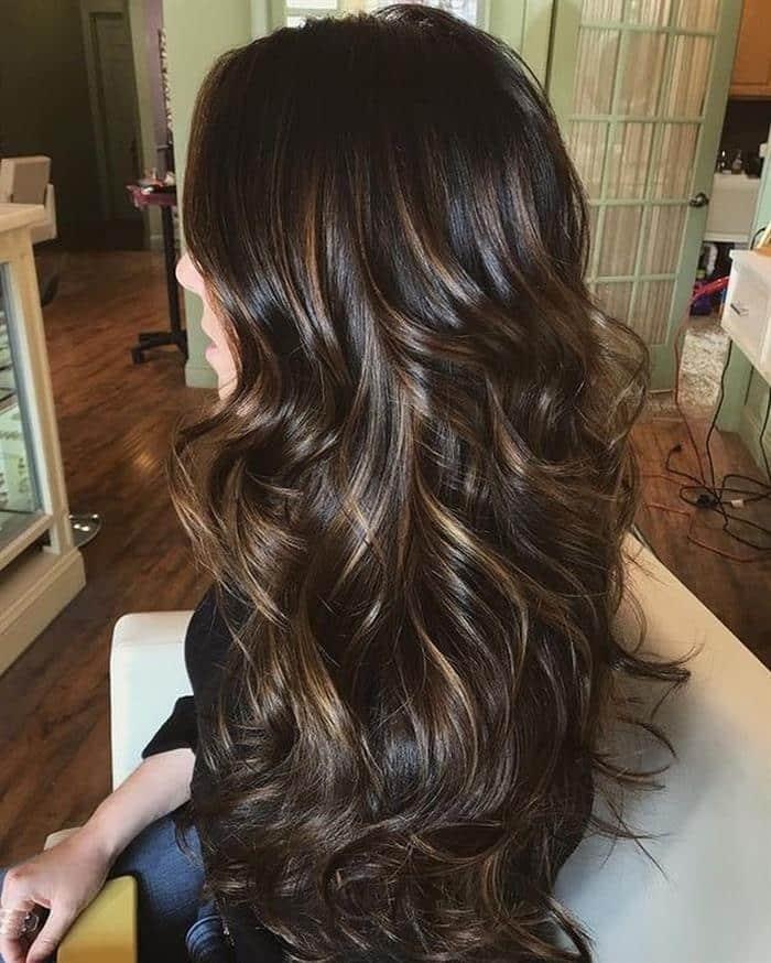 Cortes de cabelos longos em morenas