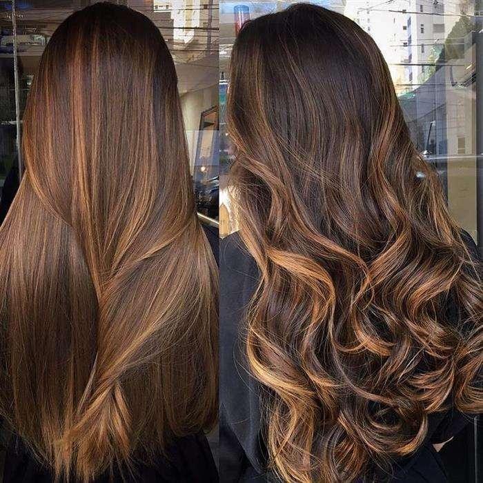 imagem corte de cabelo longo