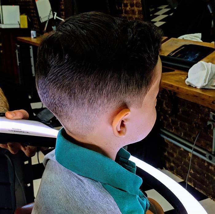 corte de cabelo infantil masculino tradicional