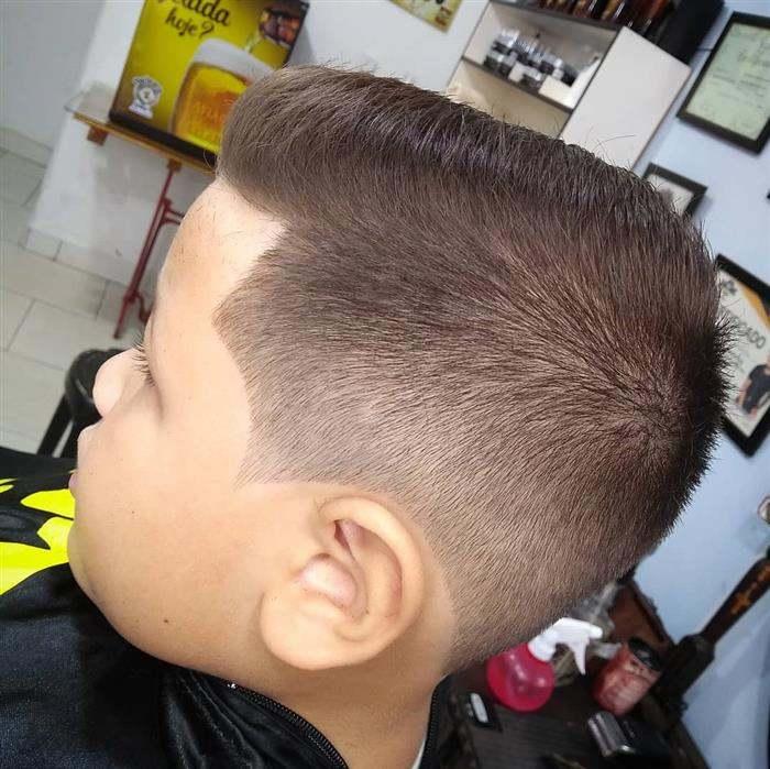 corte de cabelo masculino infantil baixo