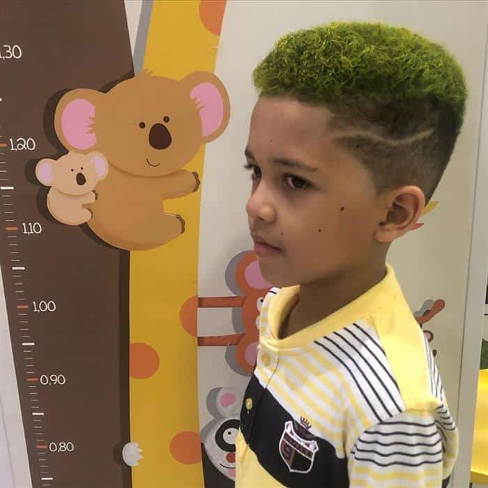 corte de cabelo masculino infantil com maquina
