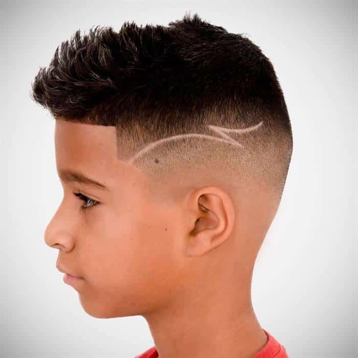 corte de cabelo masculino infantil disfarçado
