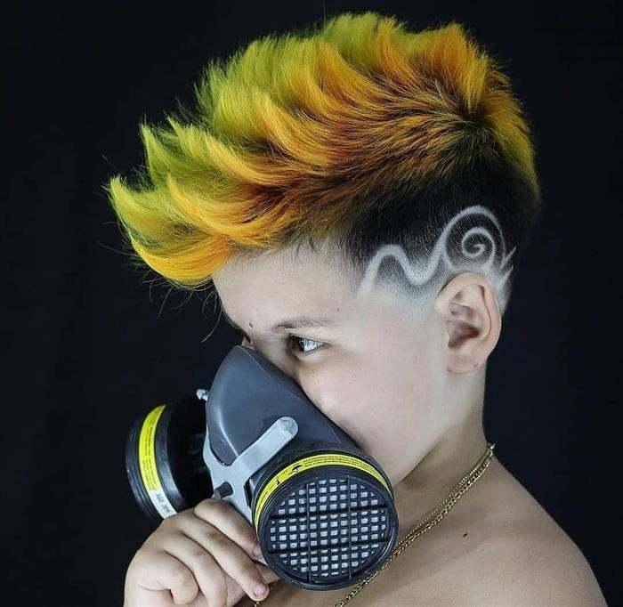 corte de cabelo masculino infantil estiloso