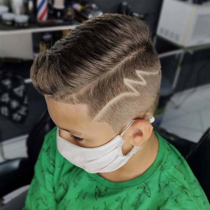 corte de cabelo masculino infantil loiro