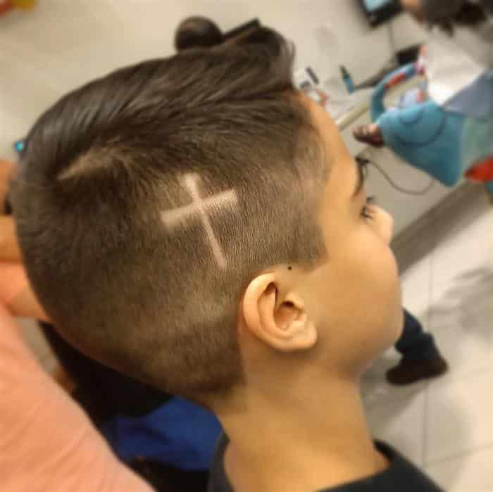 corte de cabelo masculino infantil na moda