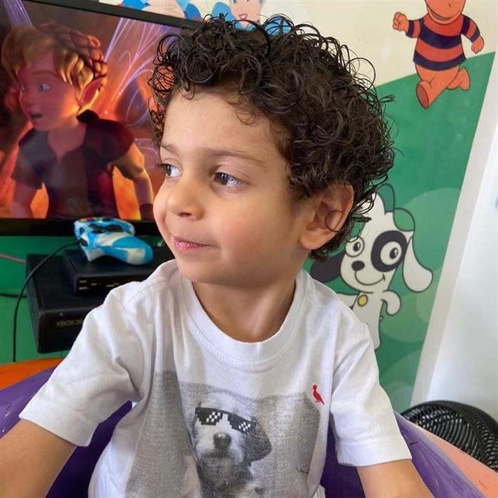 cortes de cabelo masculino infantil cacheado
